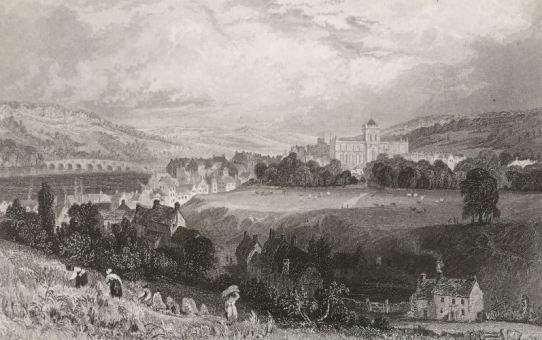 Hexham skyline Allom