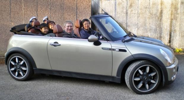 A ride in the mini