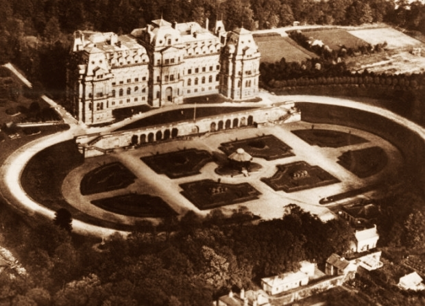 Aerial view Bowes Museum_LuxuryHeritageTours