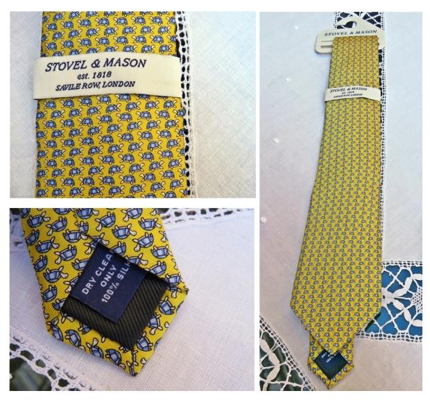 Luxury Heritage Tours Stovel&Mason Tie Yellow1