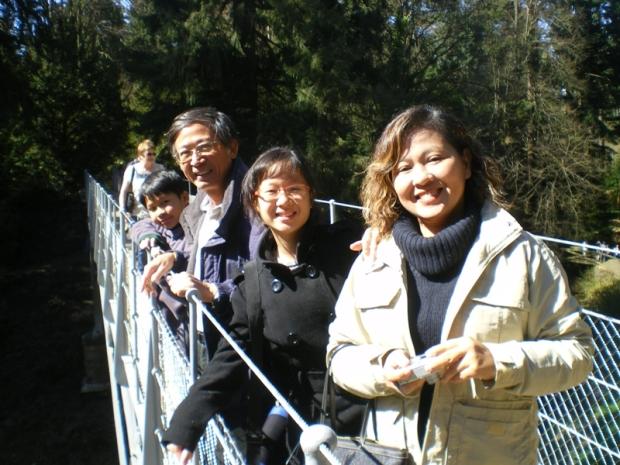 Thai guests at Cragside